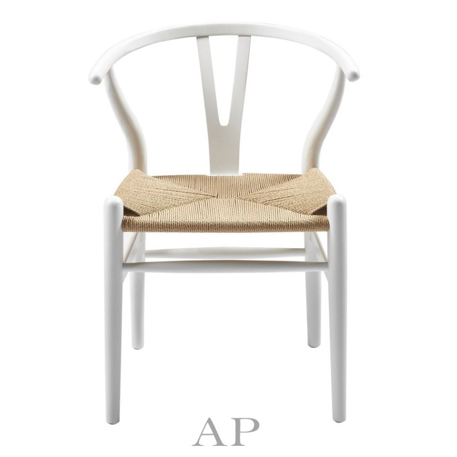 wegner-wishbone-dining-chair-replica-white-natural-papercord-seat-front-1