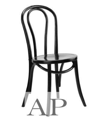 Thonet-Replica-No-18-Bentwood-Dining-Chairs-black-side-view