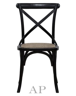 black-cross-back-dining-chair