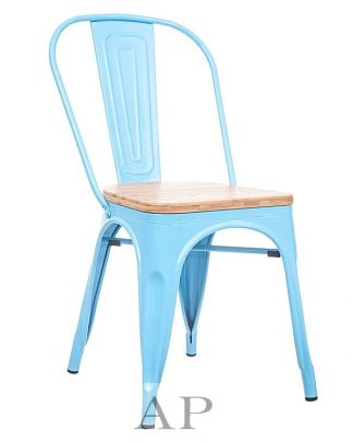 light-blue-tolix-wood-seat-chair