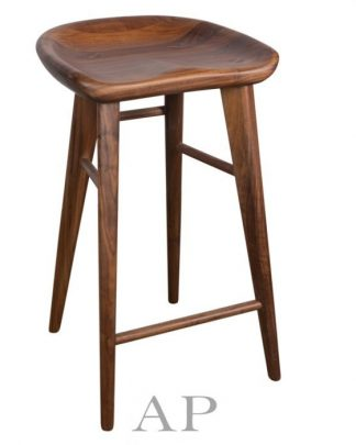 saddle-stool-walnut-top
