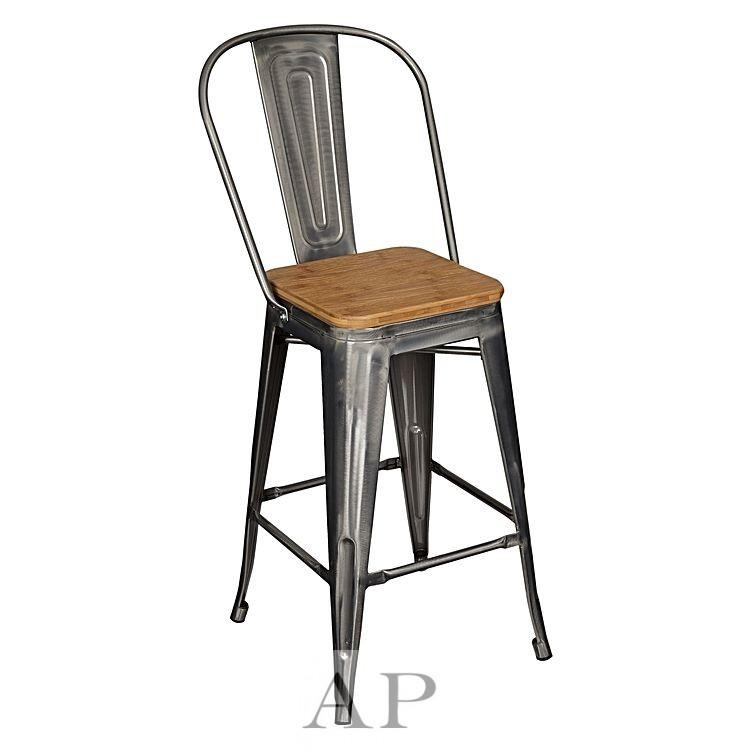 silver-tolix-bar-chair-wood-seat-66cm