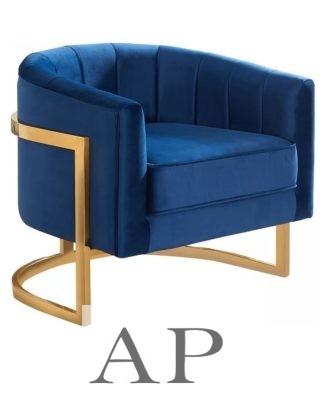 martina-barrel-chair-navy-blue-gold-frame-side-1-ap-furniture