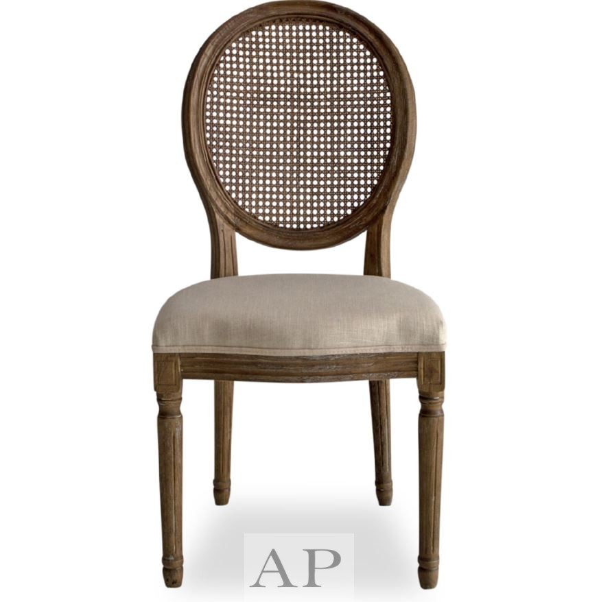 french-country-dining-side-bedroom-chair-wood-beige-front