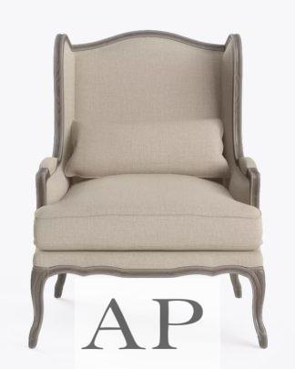 eliza-french-provincial-armchair-wire-oak-biege-front