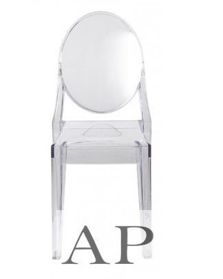 louis-ghost-dining-chair-transparent-clear-front-apfurniture