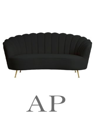 shell-sofa-2-seater-charcoal-front-1-ap-furniture