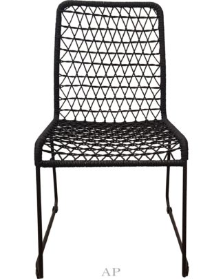 black-rope-dining-chair-front