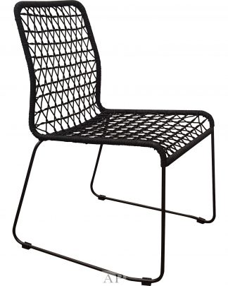 black-rope-dining-chair