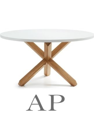 Dani-round-white-dining-table-natural-wood-legs-1-ap-furniture