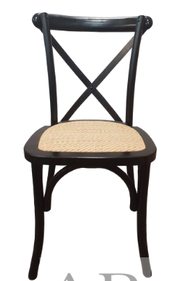 black-natural-cross-back-stackable-chair