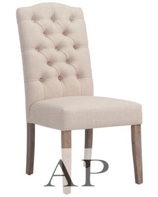 harper-dining-chair-birch-beige-linen-fabric-front-1-ap-furniture
