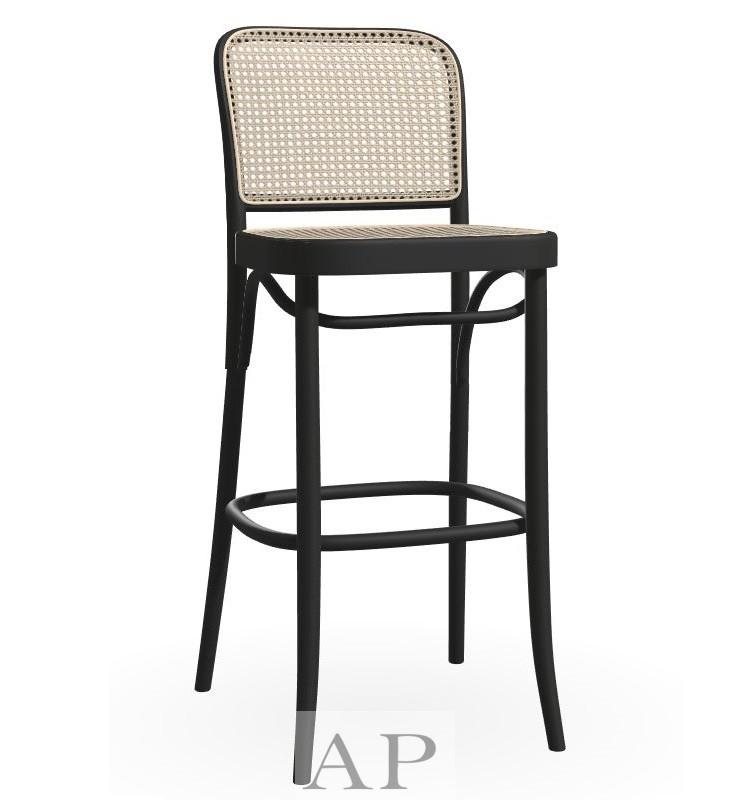 hoffman-bentwood-bar-counter-stool-chair-811-replica-black-natural-rattan-cane-seat-side-11-ap-furniture