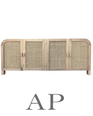 palm-springs-cane-buffet-front-rattan-natural-1-ap-furniture